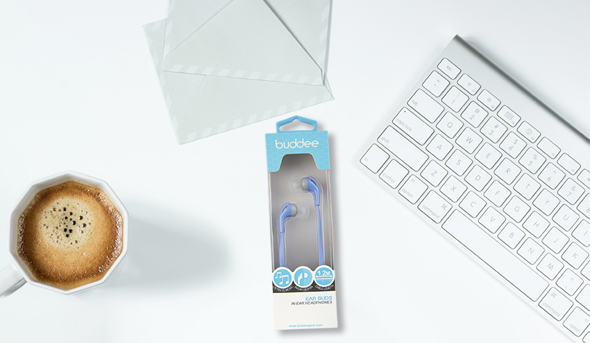 Buddee In-Ear Headphones