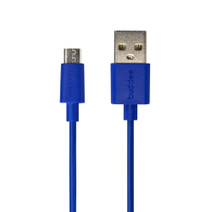 Micro-USB Round Cable - Blue