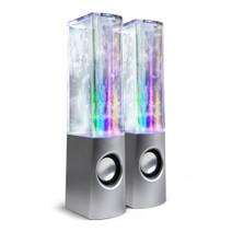 Dancing Water Speaker - Silver