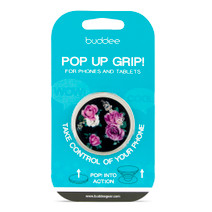 buddee Pop Up Grip - Pink Rose
