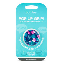 buddee Pop Up Grip - Hibiscus