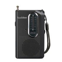 Mini Pocket Radio with Earbud Headphones