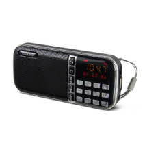 Portable AM/FM Radio with USB port