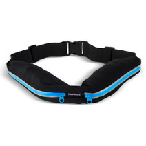 Running Belt with Expandable Pockets - Blue