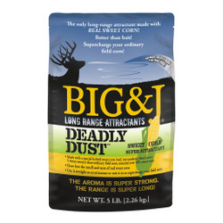 Big And J Deadly Dust  Sweet Corn Attractant 5 lbs.