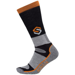 Scent-Lok Thermal Crewmax Sock Black Large