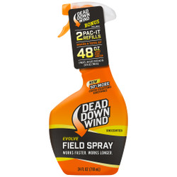 Dead Down Wind Field Spray Combo 48 oz. (24 oz. plus 2 Pac-Its)
