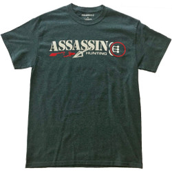 Assassin T-Shirt Bloodtrail Charcoal X-Large