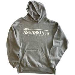 Assassin Hoodie Arrow Grey 2X-Large