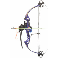 PSE Discovery Bowfishing AMS Package RH 29 Lbs. Dk'd Blue