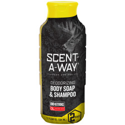 Scent-A-Way BioStrike 2-in-1 Shampoo Body Wash 12 oz.
