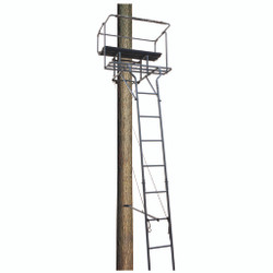 Big Dog Big Bud Ladder Stand Two Man 18 ft.