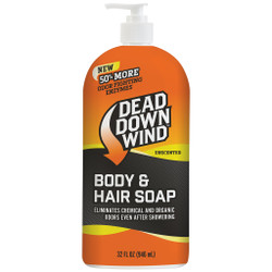Dead Down Wind Body and Hair Soap with Pump 32 oz.