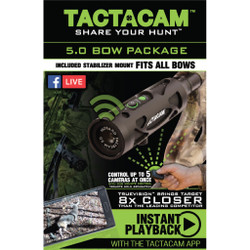 Tactacam 5.0 Camera Package Bow