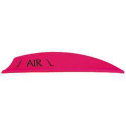 Bohning Air Vanes Hot Pink 2 in. 100 pk.