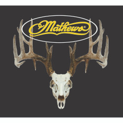 DWD Mathews Decal Whitetail Deer Skull