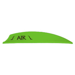 Bohning Air Vanes Neon Green 2 in. 100 pk.