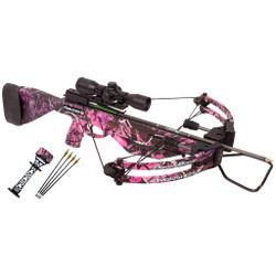 Parker Ambusher Crossbow Pkg. Muddy Girl w/4X MR Scope