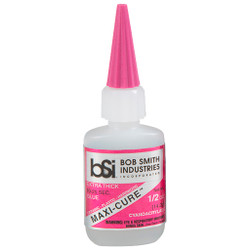 Bob Smith Maxi-Cure Glue 1/2 oz.