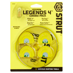 HS Strut Legends Turkey Call Combo 4 pk.