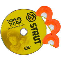 HS Strut Tone Trough Calls Turkey Tutor 3 pk.