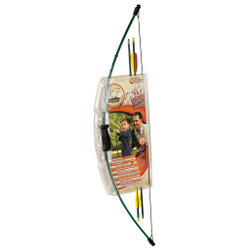 Bear 1st Shot Bow Set Green 8-12lbs. RH/LH
