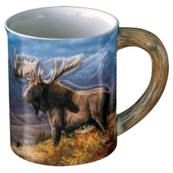 Wild Wings Sculpted Mug Cooper Moose