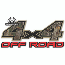 SEI 4x4 Off Road Decal Realtree Xtra