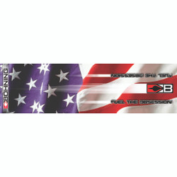 Bohning HD Arrow Wrap Stars and Stripes 4 in. 13 pk.