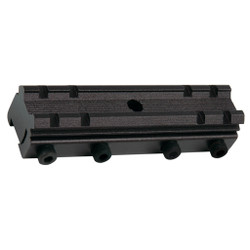 """TruGlo Scope/Red-Dot Mount 3/8"""" to Weaver Black"""