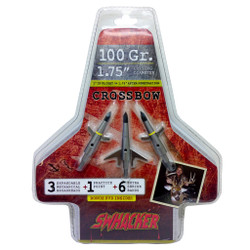 Swhacker Crossbow Broadhead 100 gr. 1.75 in. 3 pk.