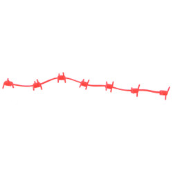 Outdoor Prostaff Wire Wrap Silencers Red 6 pk.