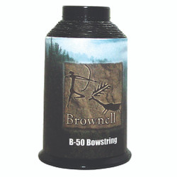 Brownell B50 String Material Black 1/4 lb.