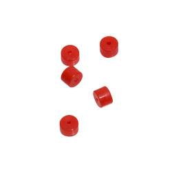 October Mountain Turbo Button 2.0 Red 100 pk.
