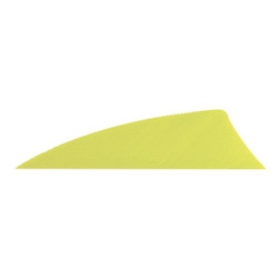 Gateway Rayzr Feathers Neon Yellow 2 in. RW 50 pk.