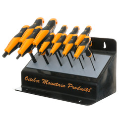 October Mountain Pro Shop Bench Hex Wrench Set
