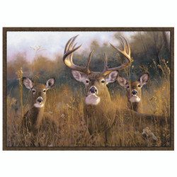 Custom Printed Rug Buck Stops Here