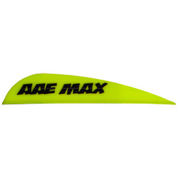 AAE Max Stealth Vane Yellow 100 pk.