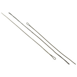 J and D Bowstring Black 452X 48.5 in.