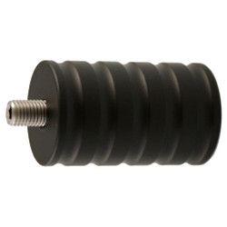 Bowfinger Solid Steel Weight Black 10 oz.