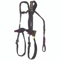 Gorilla Gear G-Tac Air Safety Harness with Flex Fit Womens