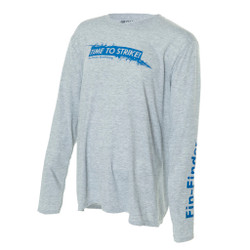 Fin-Finder Time to Strike Long Sleeve Performance Shirt X-Large
