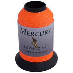 BCY Mercury Bowstring Material Neon Orange 1/8 lb.