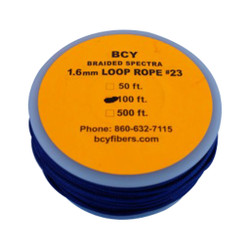 BCY Size 23 Loop Rope Blue 100 ft.