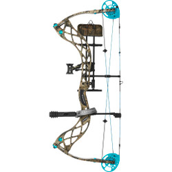 Diamond Carbon Knockout Bow Package Mossy Oak Country 40 lb. LH