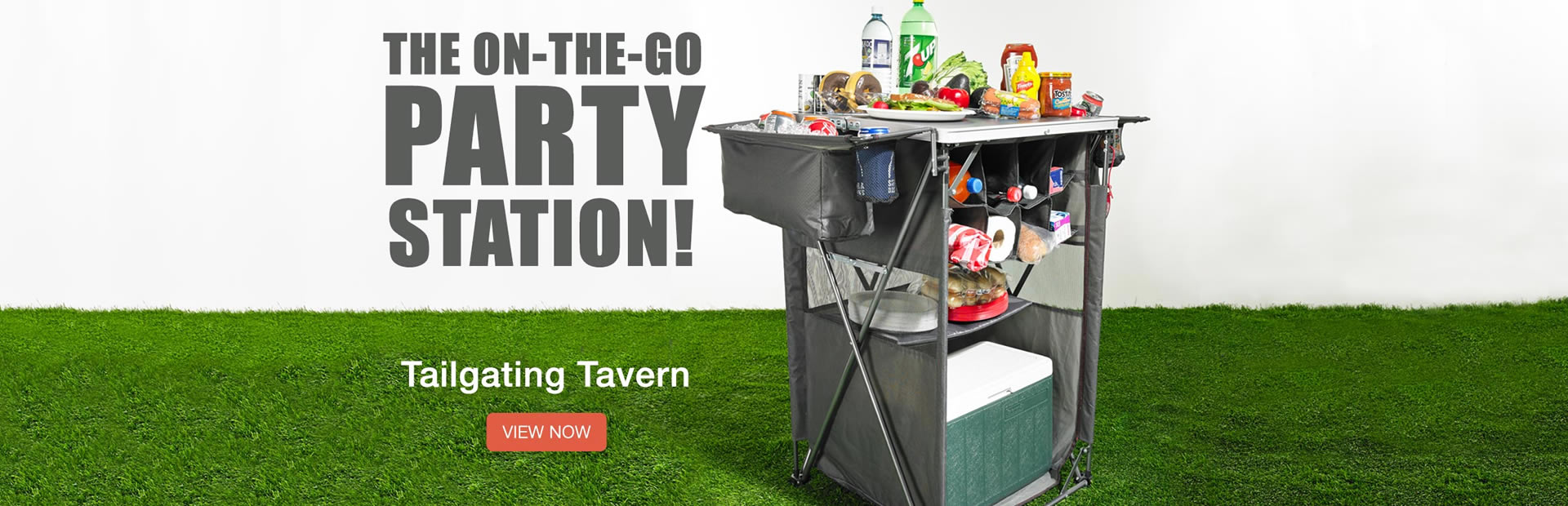Tailgating Tavern: The On-The-Go Party Station!