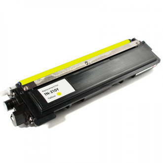 Remanufactured replacement for Brother TN210Y yellow laser toner cartridge