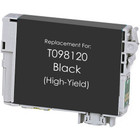 Remanufactured replacement for Epson T098120 black ink cartridge