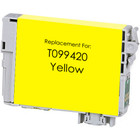 Remanufactured replacement for Epson T099420 yellow ink cartridge