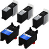 5 Pack - Compatible replacement for Dell series 24 ink cartridges